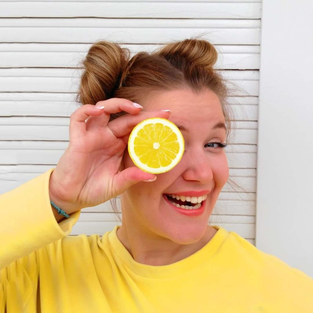 Happy me - lemon -Houseofcolour - AristeaKorkovelou