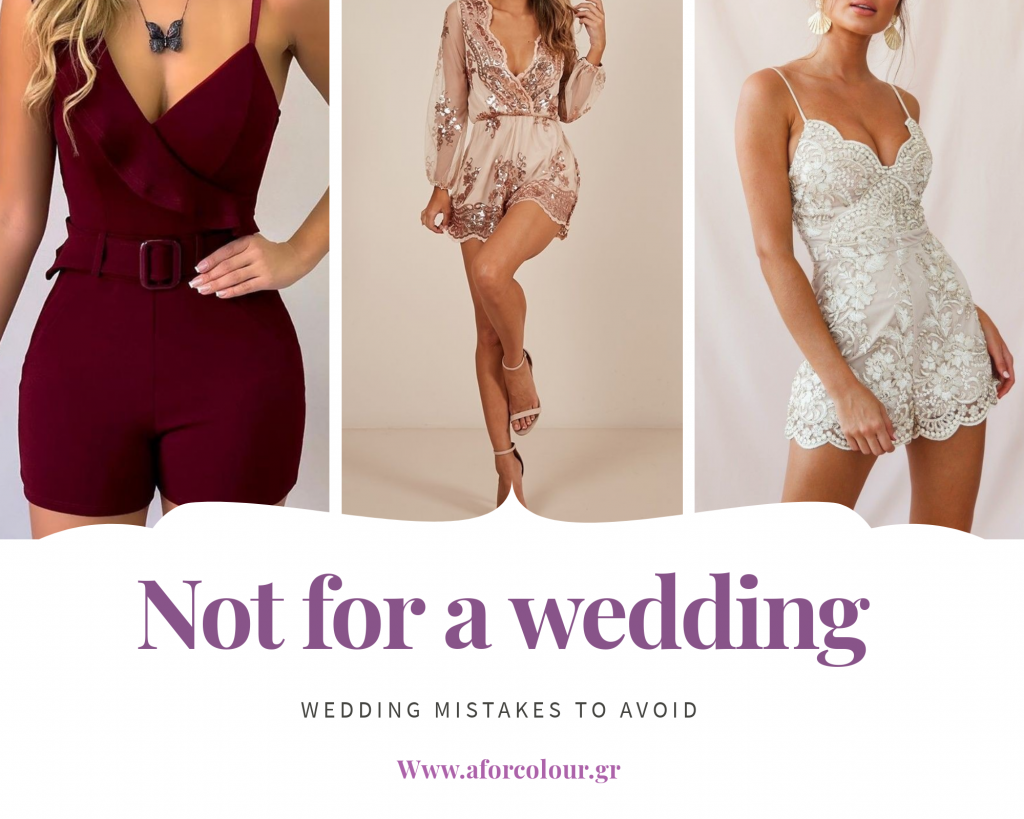 too short for a wedding, mistakes to avoid