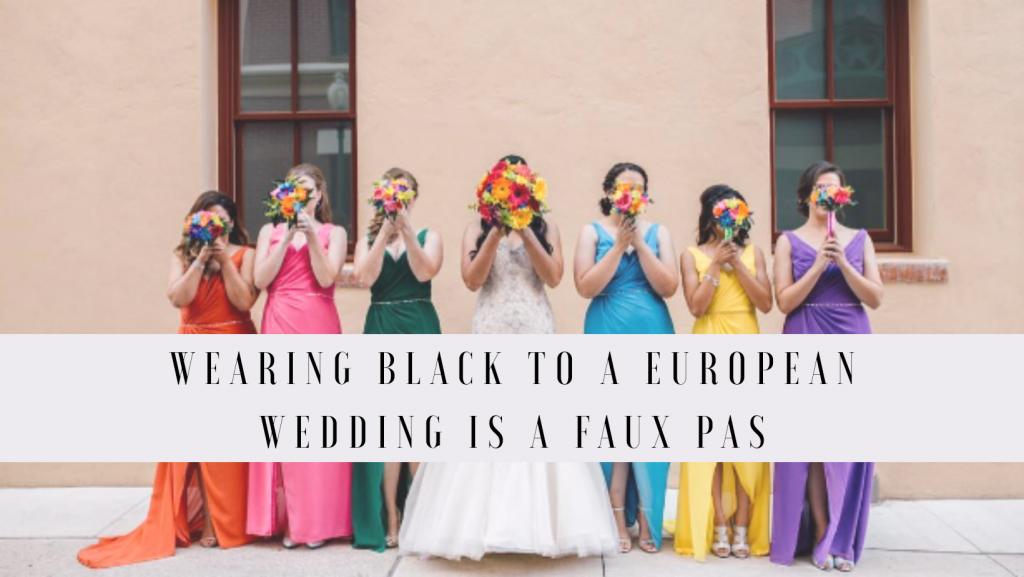 wedding fashion rules