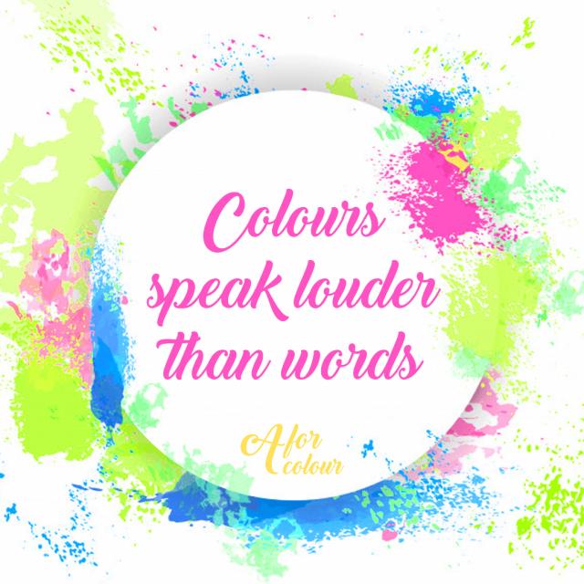 Το χρώμα μιλά για την ζωή σου!